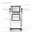 Picture of Oxygenated infusion machine tightens facial cleansing beauty machine